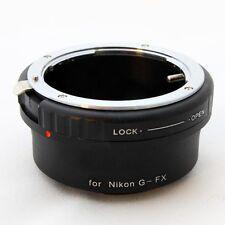 Anello adattatore ottiche Nikon G su Fuji X Pro con leva chiusura diaframma