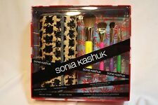 Sonia Kashuk SK Limited Edition 4 pc Native Beauty Brush Set in Chic Tribal Case