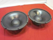 "NEW (2) 12"" Woofer Speakers.Guitar Replace.4ohm twelve inch bass pair.PA DJ.12in"