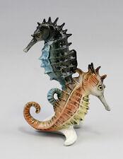 Porzellan Figur Seepferdchen-Gruppe ENS H15cm 9941166