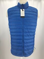 133589d1c336 Champion Blue Full Zip Lightweight Down Puffer Vest Mens XL NWT