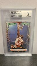 1992-93 Stadium Club Beam Team Michael Jordan BGS 9 MINT