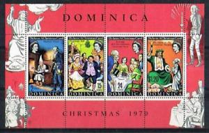 Dominica - 1970 - Sc 307a - Marley's Ghost Souvenir Sheet VF MNH