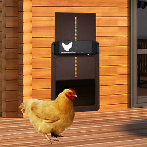 Automatic Chicken Coop Door Timer Light Sensor Household Farm Breeding