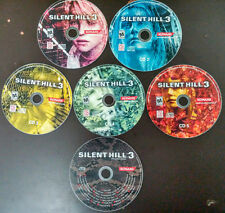 Silent Hill 3 PC CD rom -Complete - all 5 CD disc set - INCLUDING SOUNDTRACK CD!