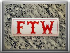 "HELLS ANGELS Support 81 Sticker Aufkleber ""FTW"" Fuck the World"