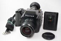 [EXC+5] Pentax 645 Medium Format Film SMC A 55mm F/2.8 Lens from JAPAN #210243
