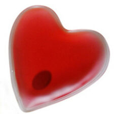 1 Heart Shaped Hand Warmer - Instant Heat, Reusable 100's of times, Non-toxic