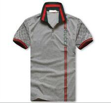 Men's Gucci Grey Polo