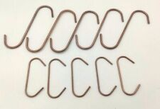 50 POWDER COATING HOOKS FOR THE HOME USER - MIXED BULK PACK - Copper Coated