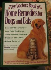 020 The Doctor's Book of Home Remedies for Dogs and Cats : Over 1,000 Solutions