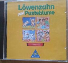 Löwenzahn und Pusteblume - Musik-CD zum Buch