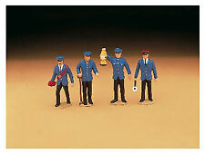 LGB G Scale Figure Set - Working People - Railroad Workers 4-Pack