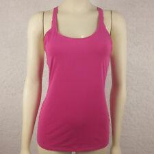 Athleta XS Extra Small Women's Bright Pink Racerback Tank Running Yoga Fitness