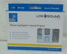 ESU 58410 LokSound 5 Decoder geluiddecoder volledig nieuw in verpakking