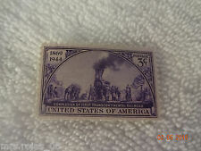 United State Of American Completion of First Transcontinental Railroad_ 3c_F2