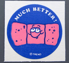 Vintage TREND Matte Scratch and Sniff Stinky Stickers - BANDAGE