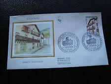 ANDORRE (francais) - enveloppe 1er jour 15/10/1983 (architecture)(cy63)andorra(R