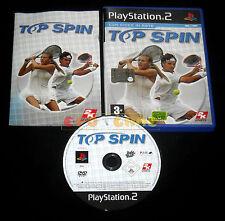 TOP SPIN Ps2 Versione Ufficiale Italiana 1ª Edizione ••••• COMPLETO