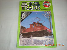 Railway Modelling Magazine Airfix Model Trains Dec 1980 Scener Silver A4s Fowler