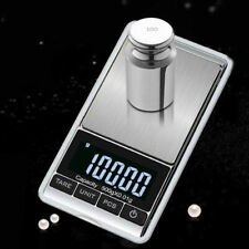 UK 500g 0.01 Digital Pocket Scales Jewellery Electronic Milligram Micro Portable