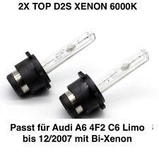 2x D2S 6000K 35w Xenon Ersatz Lampen Audi A6 4F2 C6 Limo bis 12/2007