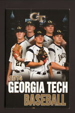 2014 Georgia Tech Yellowjackets Baseball Schedule--Atlanta Medical Center