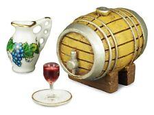 12th scale Wine Barrel set by Reutter Porzellan of Germany