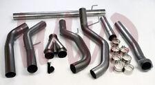 "4"" DownPipe Back Dual Exhaust Kit 08-10 Ford F250/F350 6.4L Turbo Diesel Pickup"