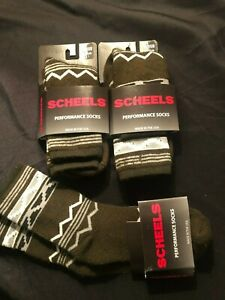 3 Pair Scheels Wool Blend  Socks