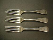 A.H. Miller .900 Fine Coin Silver Forks! C.1854-1860 Lot Of 3 Forks!