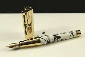 Staedtler Giuseppe Verdi Fountain Pen Leather Gold Limited Edition /200