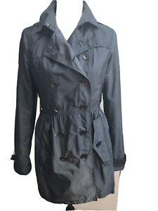 Burberry Brit Trenchcoat Damen  36 blau