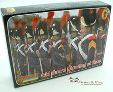 Strelets Set 170 - Old Guard Standing at Ease - Napoleonic French. 1/72 scale