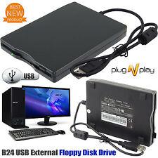 3.5″ USB Portable 1.44MB Data Storage External Floppy Disk Drive For Laptop PC