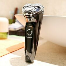 BROADCARE IPX7 Waterproof Electric Shaver USB Rechargeable Men's 360 Rotary