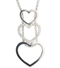 "White Gold 13 - 15.99"" Fine Diamond Necklaces & Pendants"