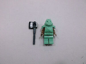 LEGO Star Wars Gamorrean Guard - Brown Arms minifigure w/ Axe 6210 minifig