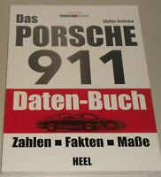 Porsche 911 Daten Handbuch - Zahlen, Fakten, Maße: Ur-/ G-Modell 964 993 996 991