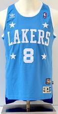 Kobe Bryant LA Lakers Light Blue Soul Swingman #8 Throwback Jersey - Medium
