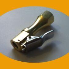Straight Brass Locking Air Chuck Tire Inflation Fill Valve Compressor Shop Tool