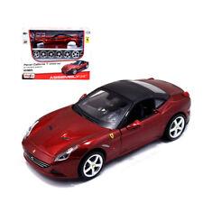 Maisto 1:24 Ferrari California T Assembly Line Metal KIT Model Car