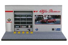 Diorama Garage Alfa Romeo - 1/43ème - #43-2-c-c-021