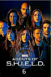 Agents of Shield S.H.I.E.L.D. Season 6 (DVD Box Set,3-Disc, Region 1) Free Ship