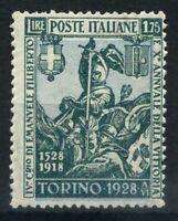 Italia Regno 1928 Sass. 236 Nuovo ** 100% Emanuele Filiberto