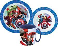 Avengers Couverts Petit-Déjeuner Lot Enfants Halk Arts de la Table Cartoon Neuf