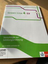 Green Line 4 G 9. Vorschläge zur Leistungsmessung