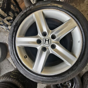 HOND CIVIC 17 INCH ALLOY WHEEL & TYRE   015
