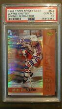1998 Topps Hky #M4 Wayne Gretzky Mystery Finest Bronze Refractor PSA 10 Gem Mint