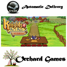 Knights of Pen and Paper +1 Edition :PC MAC LINUX : Steam Digital :Auto Delivery